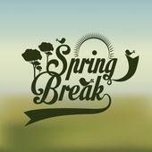 Spring design — Stock Vector