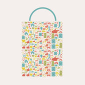 Shopping icon — Stock Vector