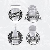 Beers design — Stock Vector