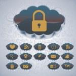 Cloud computing — Stock Vector #37767085