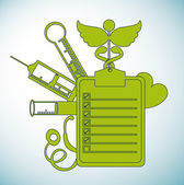 Medizinische design — Stockvektor