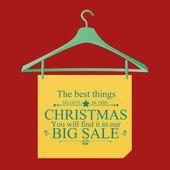 Sale christmas — Stock Vector