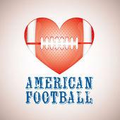 Us-amerikanischer american-football — Stockvektor