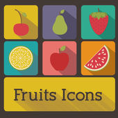 Fruits design — Stockvektor