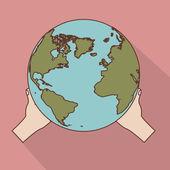 Geographic design — Stock Vector