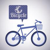 Bicycle design — Vector de stock