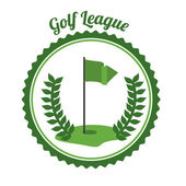 Golf design — Stock Vector