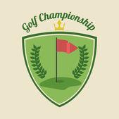 Golf design — Stock vektor