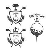 Disegno di golf — Vettoriale Stock