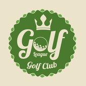 Golf design — Stockvektor