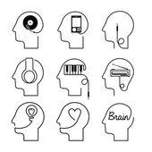 Think,design — Stock Vector