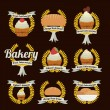 Bakery design — Stock Vector