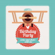 Birthday party — Stock Vector #43709671