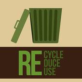 Recycle ontwerp — Stockvector