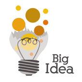 Bulb  design — Stock Vector