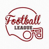американский футбол — Cтоковый вектор