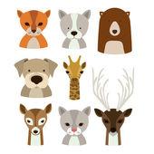 дизайн животных — Cтоковый вектор