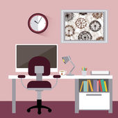 Office design — Stockvektor