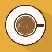 кофе дизайн — Cтоковый вектор