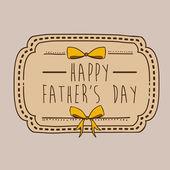 Fathers day — Stockvektor