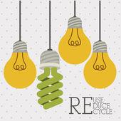 Recycle design — Stock Vector