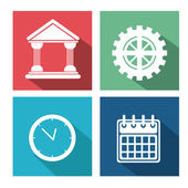 Miscellaneous icons design — Stock Vector