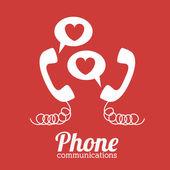 电话的设计 — 图库矢量图片