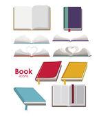 Book design — Stock Vector