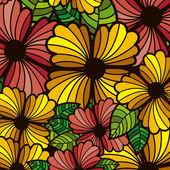 Kwiaty projektu — Wektor stockowy