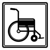 Disabled design — Stockvector