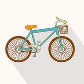 Diseño de bicicletas — Vector de stock