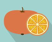 Conception de fruits — Vecteur