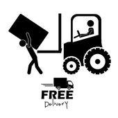 Conception de livraison — Vecteur