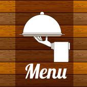 レストランのデザイン — ストックベクタ