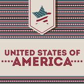 アメリカの設計 — ストックベクタ