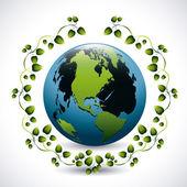 Conception de l'écologie — Vecteur