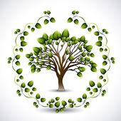 エコロジー デザイン — ストックベクタ