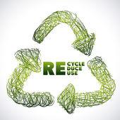 リサイクル設計 — ストックベクタ
