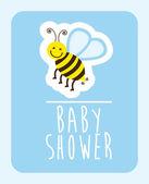 Baby shower design — Vetorial Stock