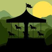 Projeto de parque temático — Vetorial Stock