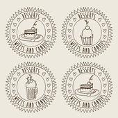 Projeto do alimento — Vetorial Stock