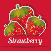 Desenho de frutas — Vetorial Stock
