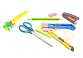 Different office stationery — Stock Photo