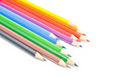 Colorful pencils close-up — Stock Photo