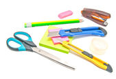 Many different office stationery — Stock Photo