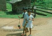 Sri Lanka pupils — Stock Photo