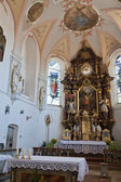 Interior church — Stockfoto