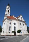 церковь в стиле барокко в steinhausen — Стоковое фото