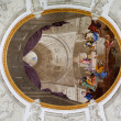 Interior baroque church - Stockfoto