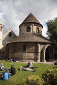 Round Church in Cambridge — 图库照片